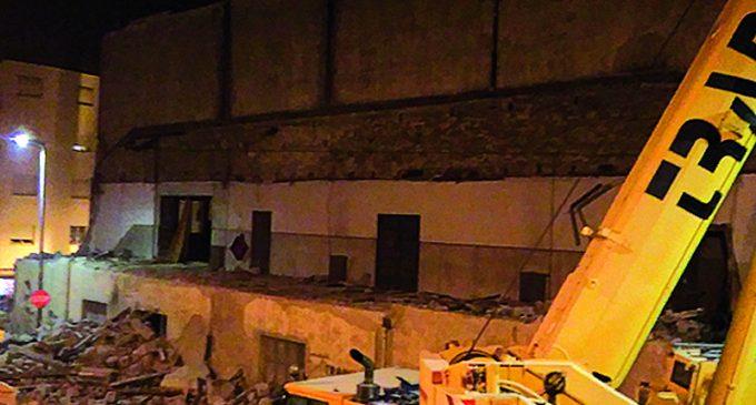 Câmara Municipal avançou com a demolição do Cine-Teatro de Ovar para garantir a segurança pública