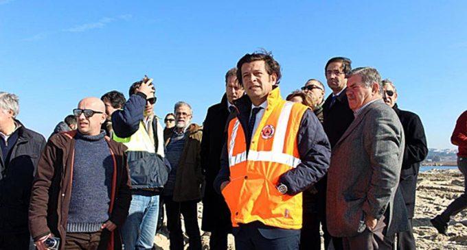 Administração da Sociedade Polis Litoral Ria de Aveiro visita obras de requalificação da Barrinha de Esmoriz