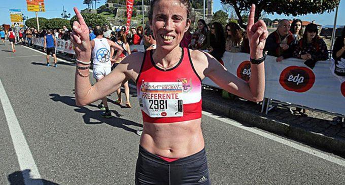 Clarisse Cruz vence meia maratona Gran Bahía Vig-Bay, em Vigo