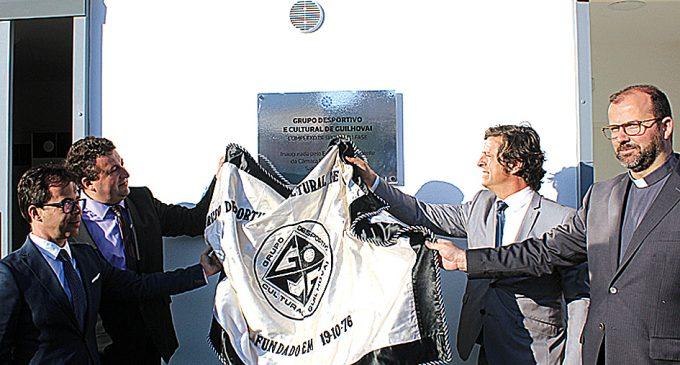 GDC de Guilhovai: Inauguração do complexo desportivo marcou um dia festivo