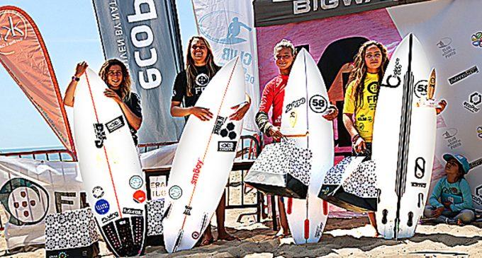 Surf: Mafalda Lopes e Camila Costa venceram em Maceda
