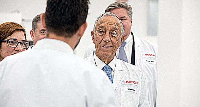 Marcelo Rebelo de Sousa inaugurou ampliação da Bosch em Ovar