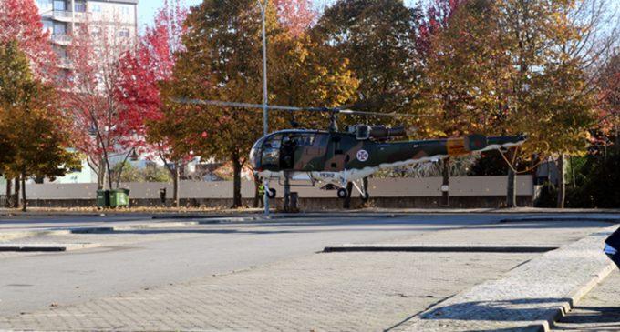 Simulacro de acidente com aeronave militar chamou à atenção dos mais curiosos