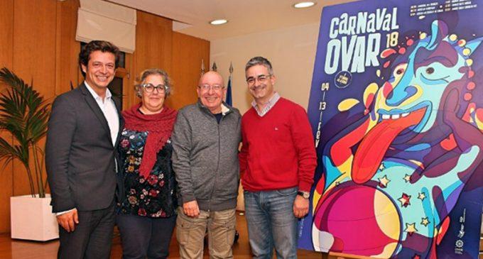 D. João o Afetuoso, e D. Ângela a Raríssima, assumem reinado do Carnaval de Ovar