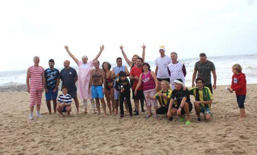 """Grupo """"De Faca e Garfo"""" promoveu o primeiro mergulho do ano"""