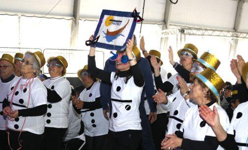 Cerca de 500 foliões reúnem-se, para mais uma edição do Carnaval Sénior