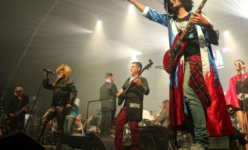 """Pevides de Cabaça juntaram-se à Banda Filarmónica Ovarense, para um """"despique"""", numa noite memorável"""