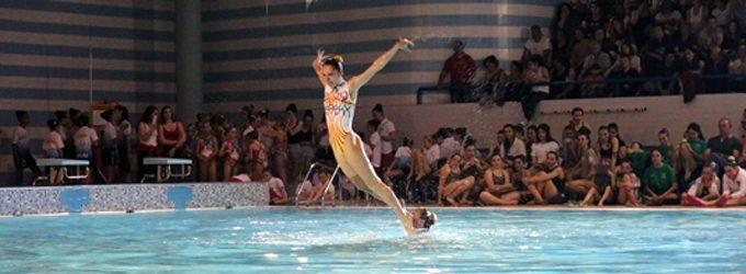 Piscina Municipal de Ovar abriu portas para receber o VII Festival Ibérico de Natação Artística