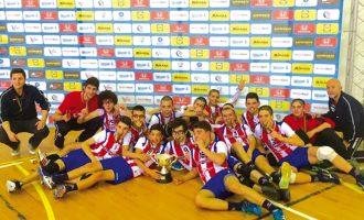 Voleibol: Iniciados do Esmoriz Ginásio Clube sagram-se campeões nacionais