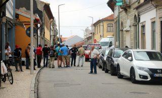 Um polícia ferido e dois carros da PSP abalroados em Ovar