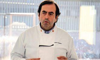 Chef Hélio Loureiro ajudou a comunidade escolar a preparar refeições económicas e saudáveis