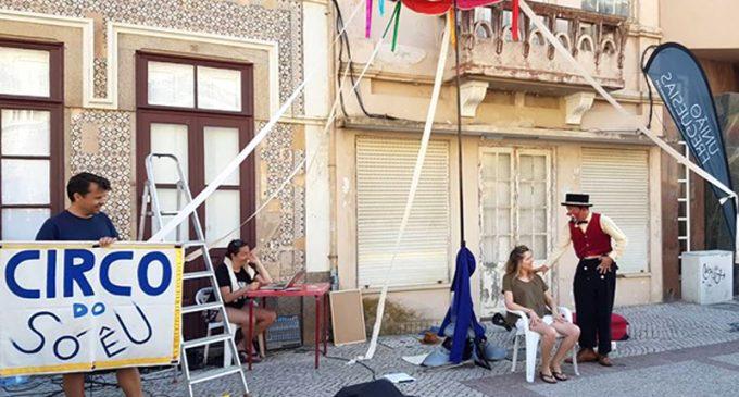 Festival de Circo trouxe ao Furadouro 16 espetáculos em dois dias