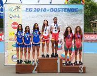 Maria Gomes Silva alcançou a medalha de bronze no Europeu de Velocidade