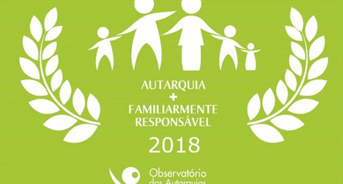 Ovar é pelo terceiro ano consecutivo um município familiarmente responsável