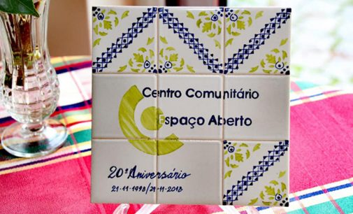 20º aniversário do Centro Comunitário Espaço aberto foi comemorado com pompa e circunstância