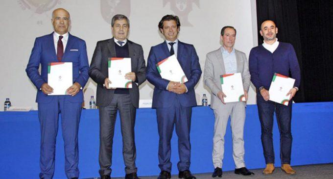 Federação Portuguesa de Futebol assinou protocolo com a Câmara Municipal e a Junta de Freguesia de Esmoriz