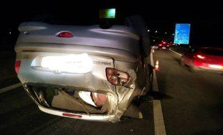 Despiste na A29 provoca um ferido grave