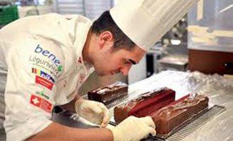 Chef chocolateiro vareiro é Campeão do Mundo em escultura artística