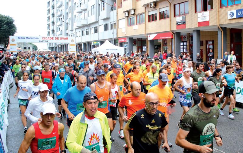 """Luis Saraiva e Inês Monteiro foram os grandes vencedores da Meia Maratona """"Cidade de Ovar"""""""