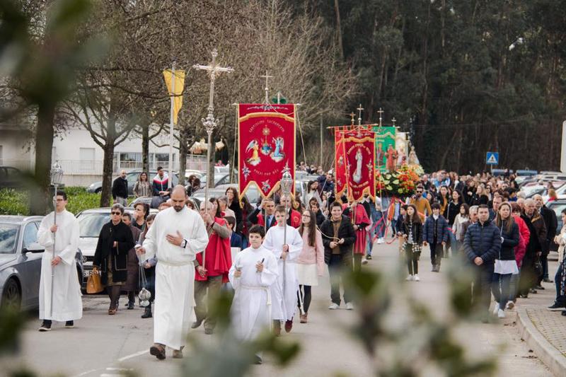 São Vicente de Pereira festejou o padroeiro