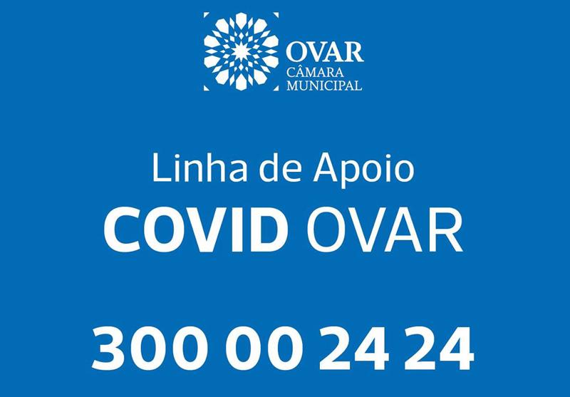 Linha de Apoio COVID OVAR 300 00 24 24