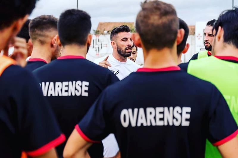 Treinador da Ovarense venceu a Covid-19