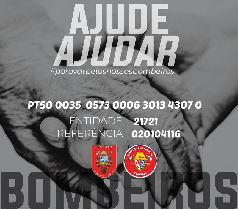 """Movimento """"Por Ovar"""" promove ação solidária com as corporações de bombeiros do concelho"""