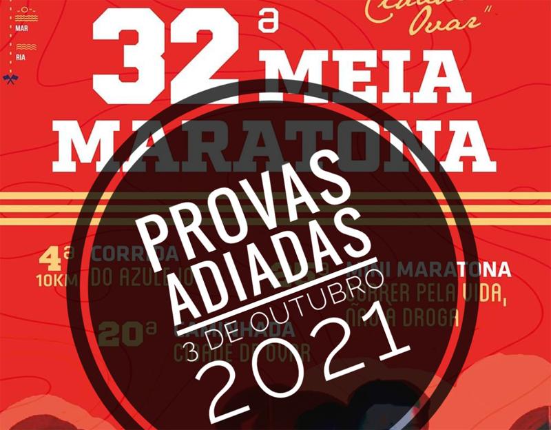 "AFIS cancela Meia-Maratona ""Cidade de Ovar"""