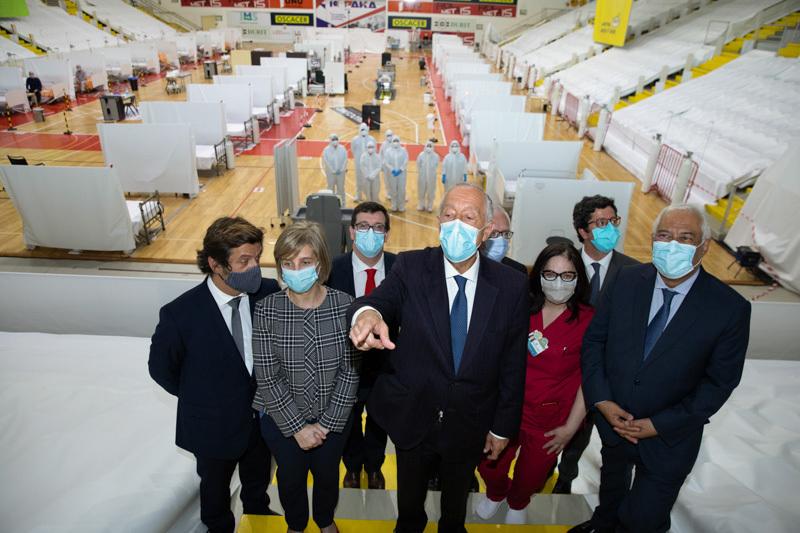 Hospital Anjo d'Ovar recebeu a visita do Presidente da República e do Primeiro-Ministro
