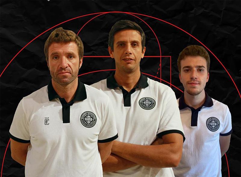 Basquetebol: Nuno Manarte conta com André Pinto e Dinis Amaral para atacar a época