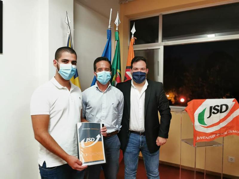 Tiago Palha é o novo líder da JSD de Ovar