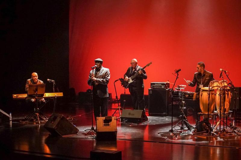 Concerto de Ibrahim Ferrer Jr. marcou a reabertura do Centro de Arte de Ovar