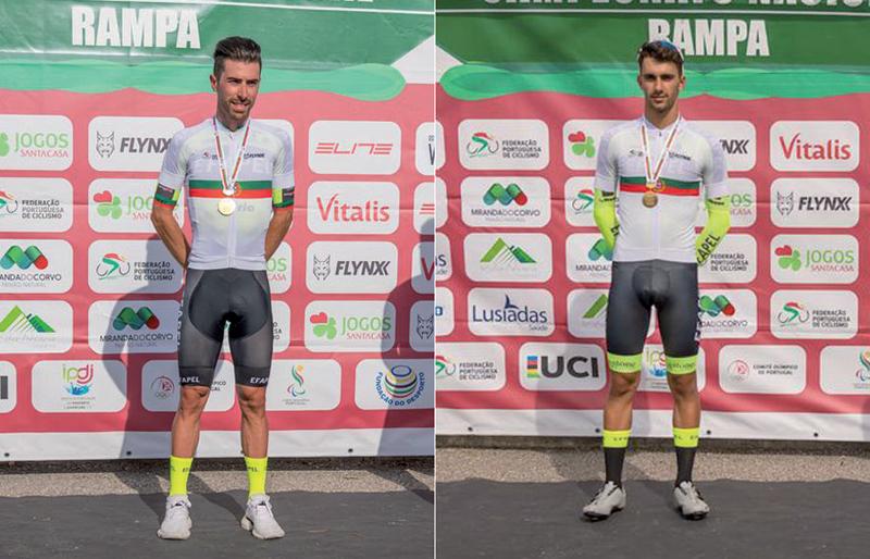 Ciclismo: Jóni Brandão e Fábio Fernandes sagraram-se campeões nacionais
