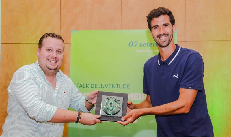Talk Juventude: Ricardo Tarantini veio a Ovar inspirar os mais jovens