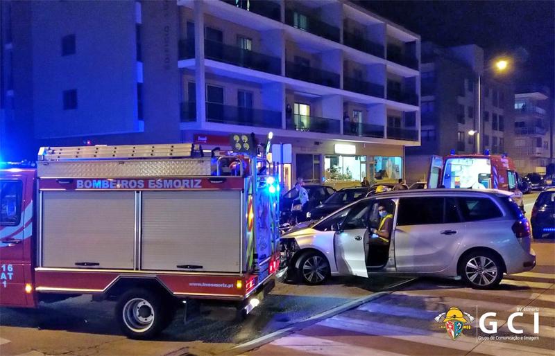 Segundo Comandante dos BV de Esmoriz ferido em colisão rodoviária