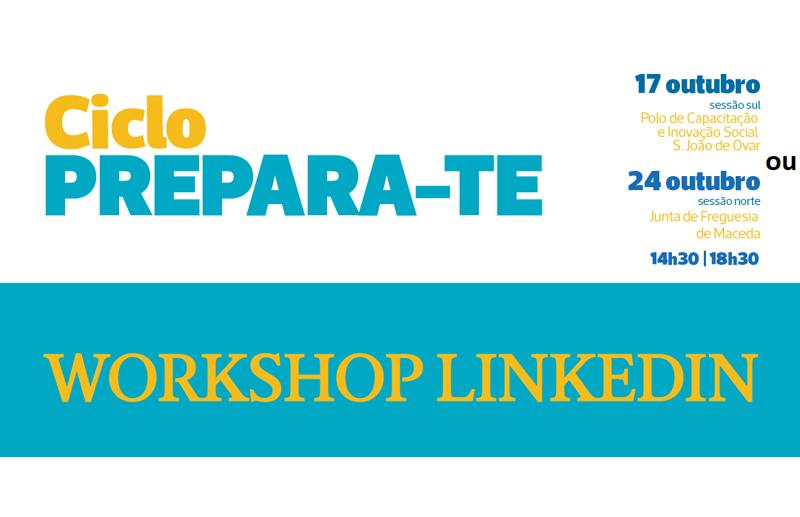 """""""Ciclo Prepara-te!"""": Pedro Caramez é o orador do Workshop """"LinkedIn"""""""