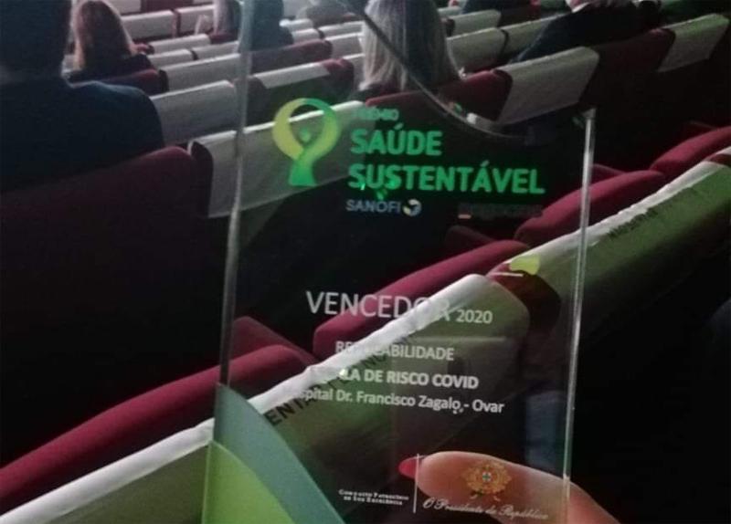 Hospital de Ovar venceu Prémio Saúde Sustentável pelo segundo ano consecutivo