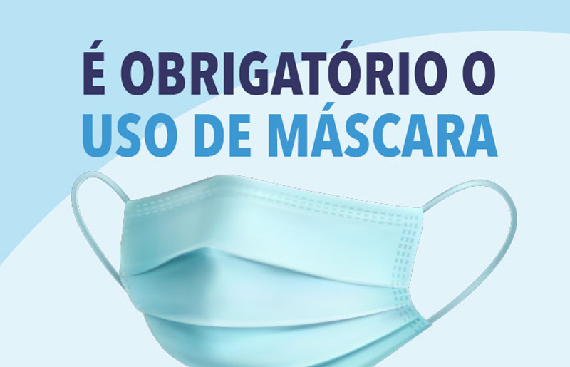 Covid-19: Obrigatório o uso de máscara na rua por 70 dias