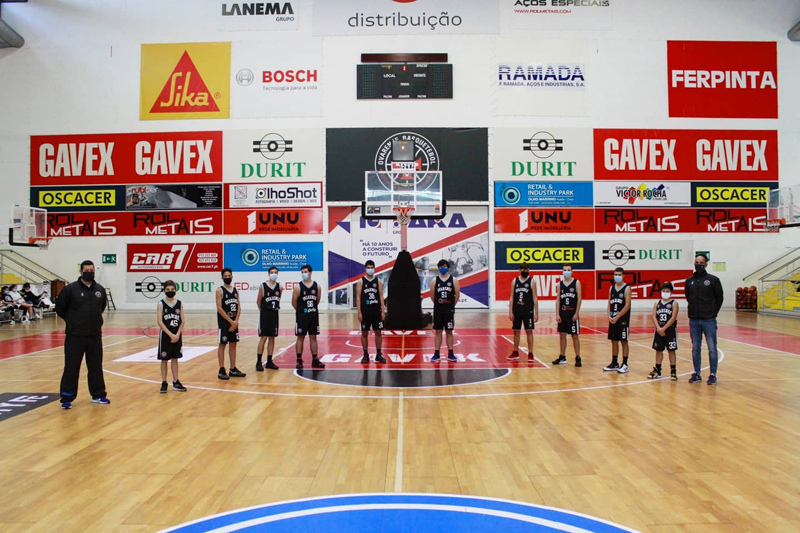 Basquetebol: Nem a pandemia impede a Ovarense de ser a maior 'escola' de basquetebol do distrito