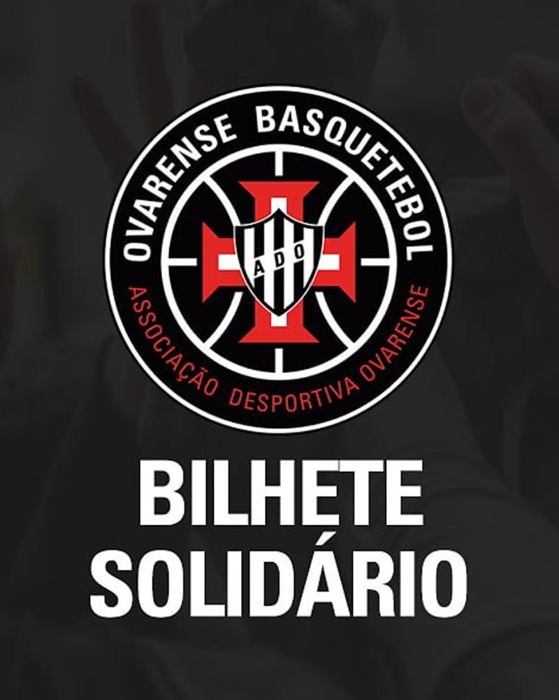 """Basquetebol: Ovarense lança campanha """"Bilhete solidário"""""""