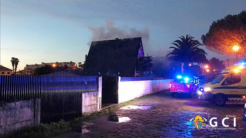 Incêndio deixou casal de idosos desalojado em Esmoriz