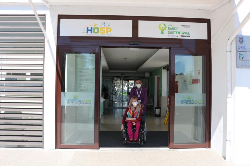 Hospital de Ovar eliminou barreiras arquitetónicas para criar espaços com condições de acesso para todos