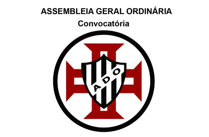 Associação Desportiva Ovarense Futebol: Convocatória para Assembleia Geral Ordinária