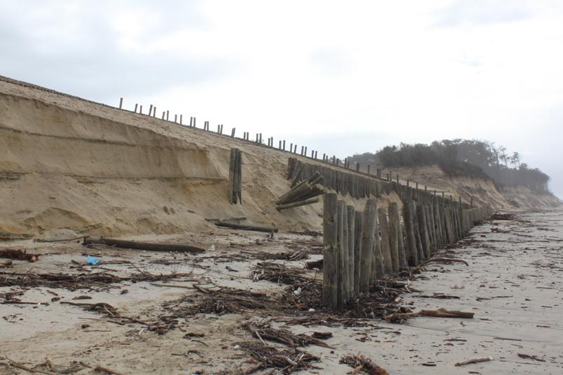 Bloco de Esquerda quer saber que obras de defesa a costa estão previstas para as praias do concelho