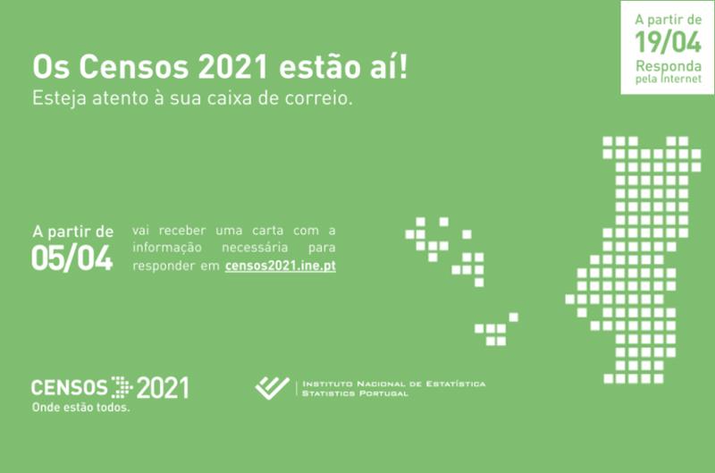 Operação Censos 2021: União de Freguesias disponibiliza apoio à população
