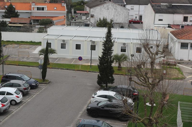 Moderna estrutura de monoblocos acolhe Unidade de Aprovisionamento e Património do Hospital de Ovar