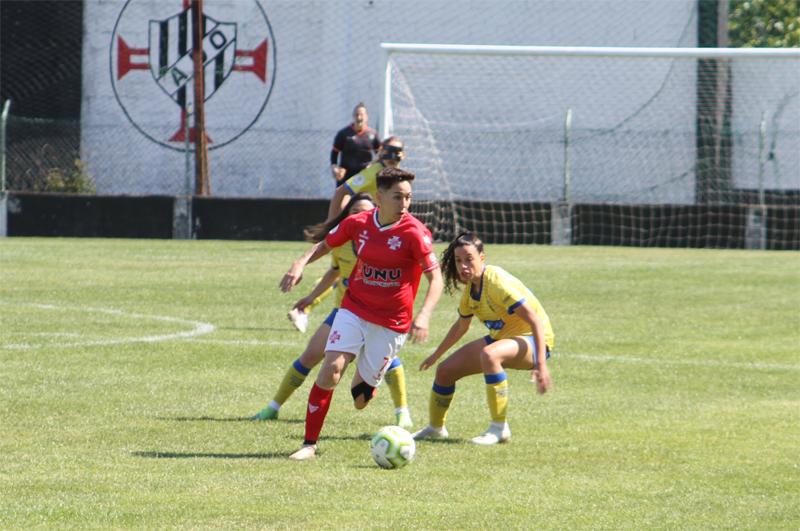 Futebol feminino: Empate entre Ovarense e Estoril deixa tudo em aberto na luta pela manutenção